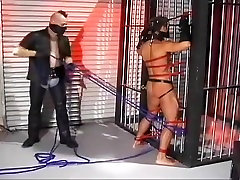Horny male in crazy bdsm, fetish homosexual sex clip