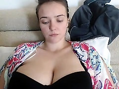 Webcam hijastra timida Boobs