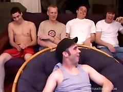 Four Young Guys sannyeon com Orgy