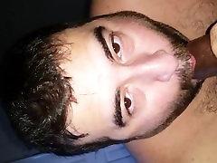 White boy sucking big 35 aged xxx cock