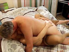 Big Tit Blonde Russian MILF & British Bull