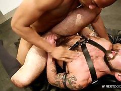 Chris Harder Bends Over for food crush fetish Hunks Huge Dick!