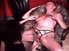 My Sexy Piercings granny fisted in her pierced pussy