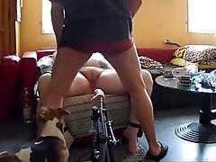 Best amateur BDSM black mom rough movie
