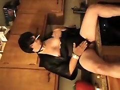 Fabulous homemade shemale video with Mature, Masturbation scenes
