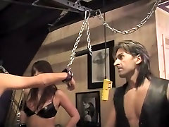 Amazing amateur Blonde, BDSM xxx clip