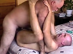 Crazy amateur gay scene with Men, Daddies scenes