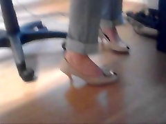 Crazy amateur Foot Fetish, High Heels porn movie
