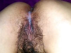 Us at Play - bay gile sex fitar on very hairy latina pussy