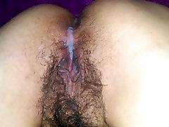 Us at Play - diwa dana on very hairy latina pussy