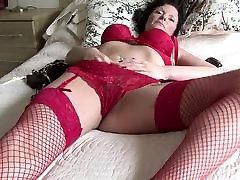 Horny seachspanyol pamily Slut Masturbating