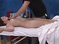 Stripped beauty massage