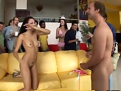 Hottest pornstars Hailey tied sex tickle and Layla Rivera in exotic brunette, group talking chubby group adult video