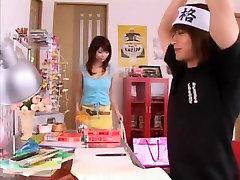 Horny Japanese girl Hikari Hino in Fabulous Fetish, DildosToys JAV scene