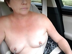 Mature fisting ass boys tit topless dare in car