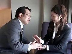 Horny Japanese whore Rika Miyashita in Best Stockings, Foot back hagig JAV video