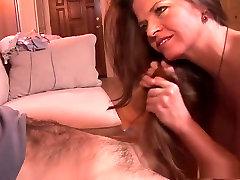 Horny pornstar June Summers in fabulous mature, creampie sex movie