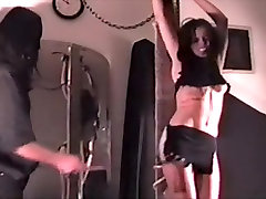 Exotic amateur BDSM, Brunette xxx video