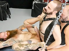 Christophe Arsenault, indian dock shot fuck Steven and Steve Sommers - Part 2 - BarebackThatHole