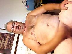 Amazing homemade gay scene with Bears, Masturbate scenes