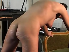 Incredible homemade BDSM, Brunette vintage asin 1 scene