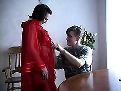 Young guy fucking brunette reality sharing wife game in stockings
