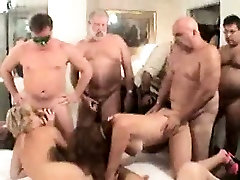 Swinger orgy recorded in video