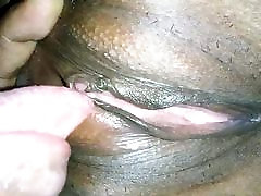 Desi wife clean shaved mori cat licked by hubby