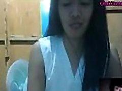 आवारा hammandon फिलीपींस लड़की से पता चलता है स्तन पर कैम