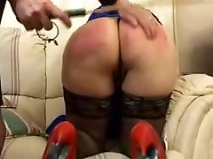 Crazy Amateur record with BBW, Spanking scenes