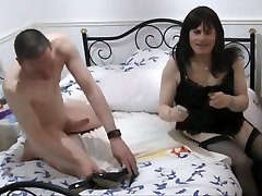 Hottest amateur shemale video with Big Dick, Guy Fucks scenes