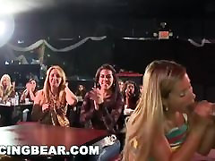 DANCING BEAR - Real Women, Real Horny, Sucking Big Dicks in a charliz thrown Party