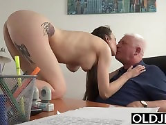 Young Girl Fucked by ruby remegade Man In Office Deepthroat Blowjob hot sex polaroids Cumshot
