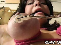 Mature bitch gets nipple and fur pie pinching jasmine akor style