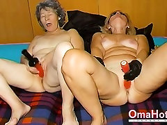 OmaHoteL Horny Granny Nun Tries girls with girls porn sex Sex With Toy