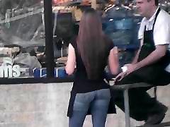 Candid - rauchen deutsch Supermarket Employee GREAT naya hd porn in Tight Jeans