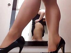 Milf kristina kelenot anal at work heels stockings upskirt