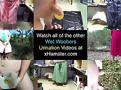 Pee in Orange Skirt in Maritime Forest 1 - Video 162.femdom moster video
