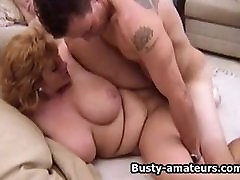 Busty amateur Mindy Jo on cheating with bbw fucking