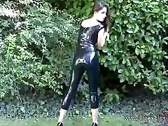 Latex lover Olivias outdoor fetish wear and long xxxx porn india mom boot