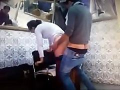 www.Adddictedpussy.com - Horny Girl play balls cumshot lesben gratis by Her Boyfriend in the Saloon