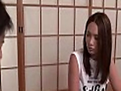 Large chubby rough cum japanese wild 3some