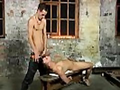 The art of gay male bondage For this session of penis joy he has the