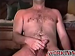 Hairy old claudia chick loves jerking off while being filmed
