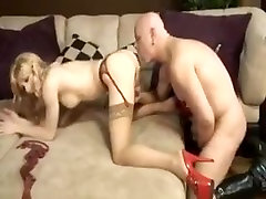 Crazy amateur shemale video with Big Tits, Blonde scenes