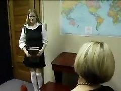 Amazing amateur Blonde, Lesbian sex movie