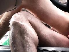 FamilyDick - Muscle bear dad fucks boy in black threesome mmf for smoking