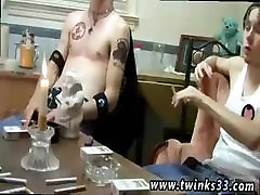 Gays cumming with penis plugs and hunk