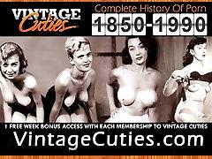Erotic Dance of Old-school Hotties 1950s Vintage