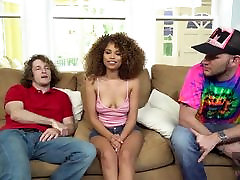 Hussie Auditions: Sexy xxx vedil Cecilia Lion&039;s First Creampie